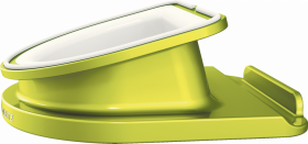 Podstawka obrotowa Leitz Complete Wow, pod iPad/tablet, 108x49x125mm zielony