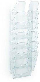 Pojemnik na czasopisma Durable Flexiplus 6, A4, 6 pojemników, przezroczysty