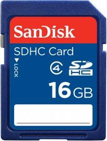 Karta pamięci SDHC SanDisk, 16GB