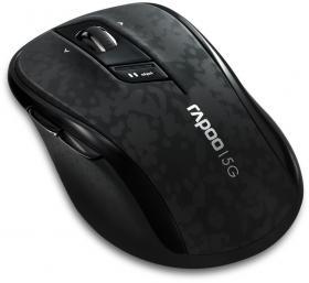 Mysz bezprzewodowa Rapoo, 5G 7100P, optyczna, czarny
