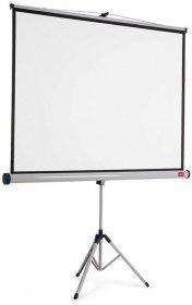 Ekran projekcyjny na trójnogu Nobo, 175x132.5 cm, biały