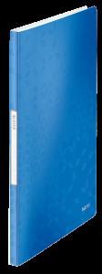 Album ofertowy Leitz Wow, A4, 20 koszulek, metaliczny niebieski