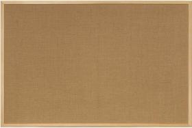 Tablica jutowa ecoBoards, w ramie drewnianej, 120x80cm