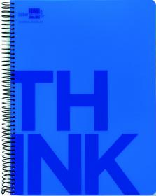 Kołonotatnik Liderpapel Think, A4, w kratkę, 160 kartek