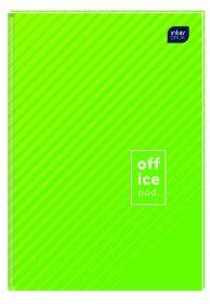 Brulion w kratkę Interdruk, A4, twarda oprawa, 192 kartki, mix wzorów