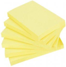 Karteczki samoprzylepne Post-it Super Sticky, 127x76mm, 6x90 karteczek, żółty pastelowy