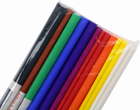 Bibuła marszczona Interdruk, 200 x 50 cm, 1 sztuka, mix kolorów