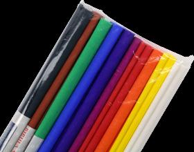 Bibuła marszczona Interdruk, 200 x 50 cm, mix kolorów