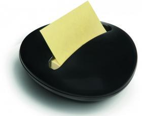 Podajnik do bloczków samoprzylepnych Post-it, Stone by Karim Rashid Z-Notes, czarny