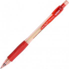 Ołówek automatyczny Rystor Boy-Pencil, 0.7mm, z gumką, czerwony