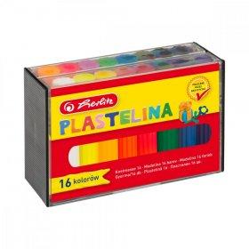Plastelina Herlitz, 16 kolorów