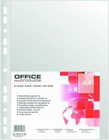 Koszulki krystaliczne Office Products, A4, 40 µm, 100 sztuk, transparentny