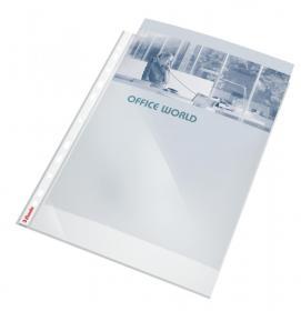 Koszulki krystaliczne Esselte, A4, 55µm, 10 sztuk, transparentny