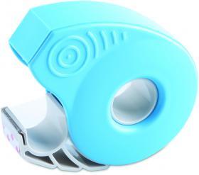Podajnik do taśmy klejącej ICO Smart + taśma 19mm x 33m jasnoniebieski