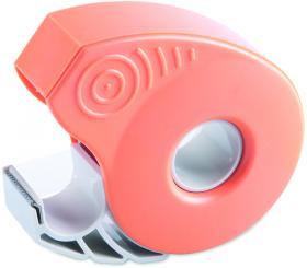 Podajnik do taśmy klejącej ICO Smart + taśma 19mm x 33m pomarańczowy