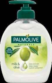 Mydło w płynie Palmolive, z dozownikiem, oliwkowy, 300ml (c)