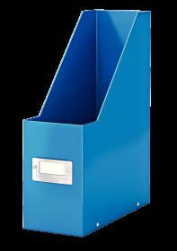 Pojemnik Leitz Wow Click&Store, A4, 95mm, do 950 kartek, niebieski