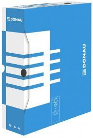 Pudło archiwizacyjne Donau, 80mm, niebieski