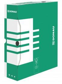 Pudło archiwizacyjne Donau, 80mm, zielony