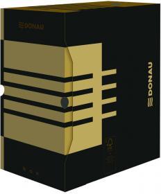 Pudło archiwizacyjne Donau, do luźnych dokumentów, 155mm, brązowy