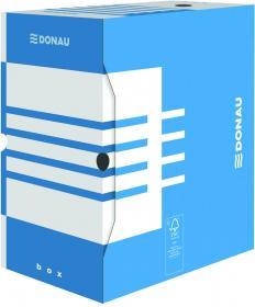 Pudło archiwizacyjne Donau, do luźnych dokumentów, 155mm, niebieski
