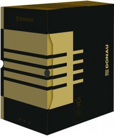 Pudło archiwizacyjne Donau, do luźnych dokumentów, 200mm, brązowy