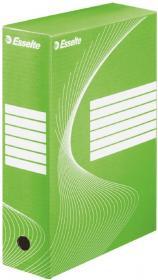 Pudło archiwizacyjne Esselte Standard, do luźnych dokumentów, 100mm, zielony