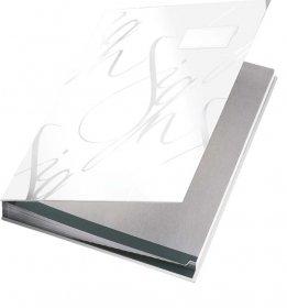 Teczka do podpisu Leitz, A4, 18 kartek, biały