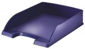 Półka na dokumenty Leitz Style, A4, plastikowa, niebieski