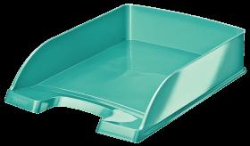 Półka na dokumenty Leitz Wow Plus, A4, plastikowa, turkusowy