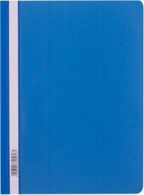 Skoroszyt plastikowy bez oczek D.Rect, A4, niebieski