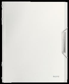 Teczka segregująca Leitz Style, A4, 12 przegródek biały