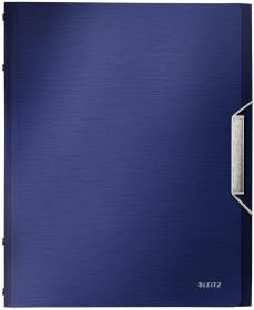 Teczka segregująca Leitz Style, A4, 12 przegródek 12, 1, tytanowy błękit