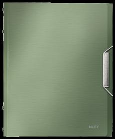Teczka segregująca Leitz Style, A4, 6 przegródek, grzbiet 17mm, pistacjowa zieleń