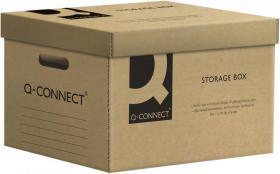 Pudło archiwizacyjne Q-Connect, 6x80mm, A4, szary