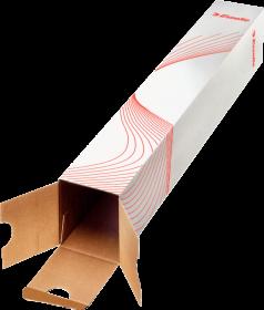 Tuba kartonowa na plakaty, Esselte, 50cm, brązowy