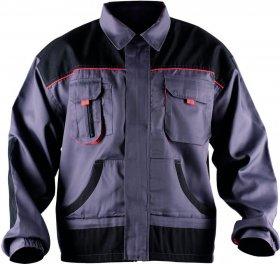 Bluza Fridrich&Fridrich BE-01-002, rozmiar 58, szaro-pomarańczowy