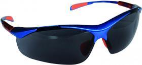 Okulary ochronne Ispector Nellore, filtr UV, dymny