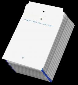Koperta bąbelkowa NC, C/13, 170x225mm, 10 sztuk, biały