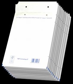 Koperta bąbelkowa NC, D/14, 200x275mm, 10 sztuk, biały