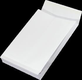Koperta rozszerzana, NC, C4, z paskiem HK, 25 sztuk, biały