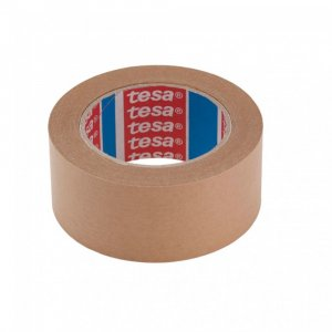 Taśma samoprzylepna papierowa tesa, 50mm x 50m, brązowy
