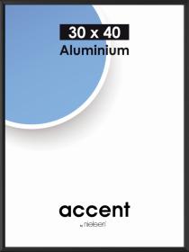 Ramka aluminiowa Basic Nielsen, A3, czarny