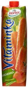 Sok marchewkowy Hortex Vitaminka, karton, 1l