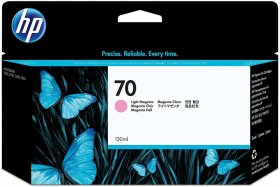 Tusz HP 70 Vivera (C9455A), 130ml, light magenta (jasny purpurowy)