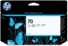 Tusz HP 70 (C9451A), 130ml, light grey (jasny szary)