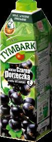 Nektar czarna porzeczka Tymbark, katron, 1l