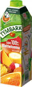 Sok multiwitamina Tymbark, karton, 1l
