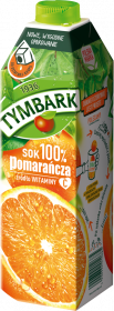 Sok pomarańczowy Tymbark, karton, 1l