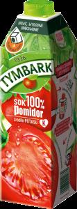 Sok pomidorowy Tymbark, karton, 1l